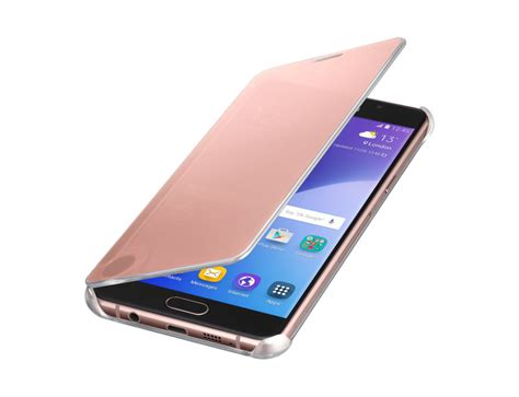 Samsung Galaxy A7 2016 Clear View Cover Original clear view cover for galaxy a5 2016 pink gold samsung uk