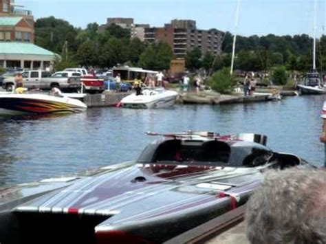 cigarette boat my way double helicopter engine speed boat youtube