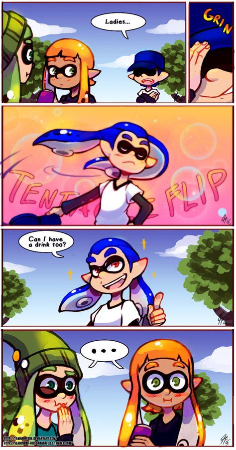 Splatoon Memes - deal with it inkling edition splatoon know your meme