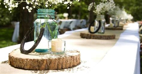 Table Centerpiece Country Western Wedding Wedding Western Wedding Centerpieces For Tables