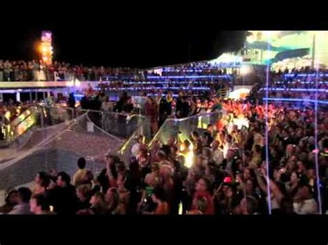 new years on the carnival conquest dec 31 2010 youtube