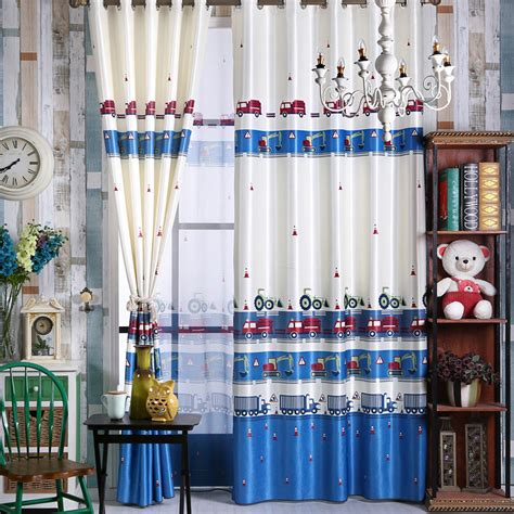 blue curtains for boys bedroom new green blue curtains for boys cars modern kids
