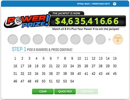 Next Pch Drawing 2017 - pch lotto games power prize bigger bucks millions rolling jackpot