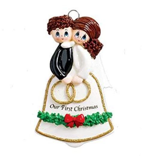 Wedding Bell Ornament by Wedding Bell Personalized Ornament