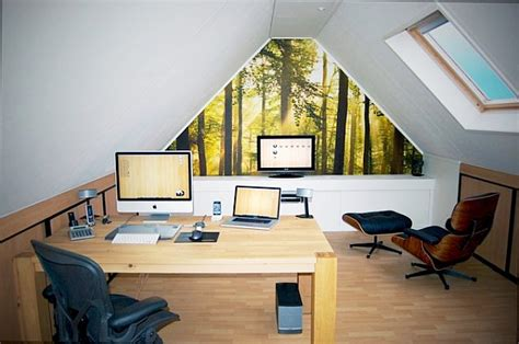 attic work space 20 home office decorating ideas for a cozy workplace