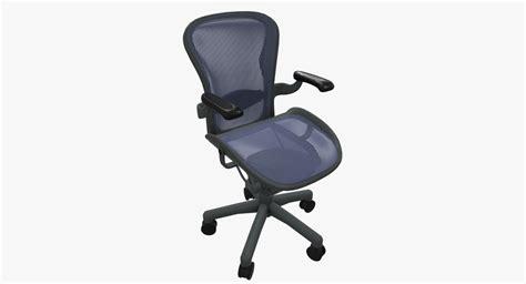 herman miller aeron stool conversion aeron chair herman miller 3d model turbosquid 1232310