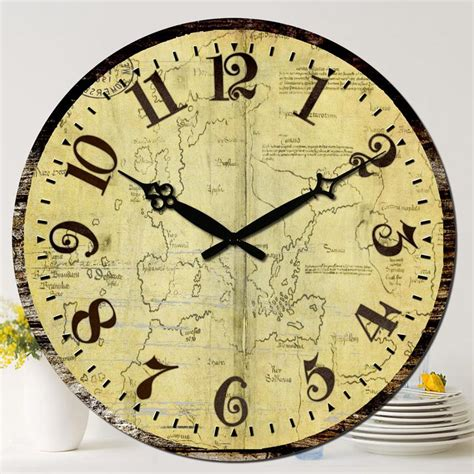 dining room wall clocks new large wood wall clock new 15 quot vintage living dining