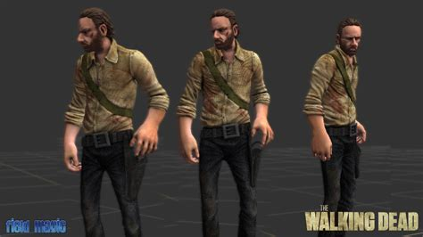 rick grimes babbleworthy what is rick grimes hairstyle called rick grimes walking