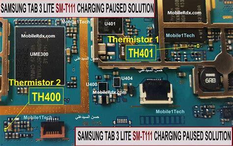 Charger Samsung Galaxy Tab 3 Lite samsung galaxy tab 3 lite charging paused problem repair