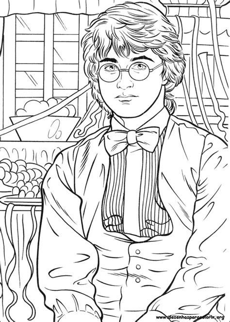 harry potter coloring pages crookshanks harry potter para colorir