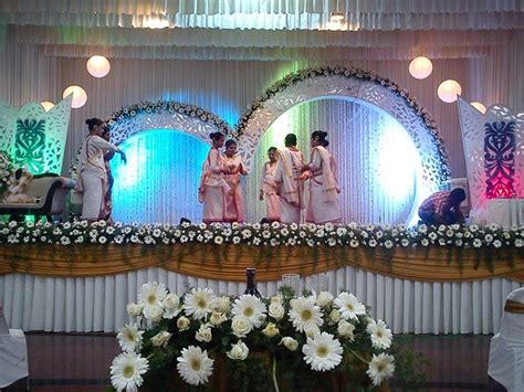 7 best kerala christian wedding stage decor images on