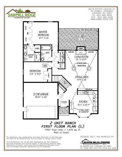 floorplan 1 bk developers inc lewis builders development inc new homes condos and