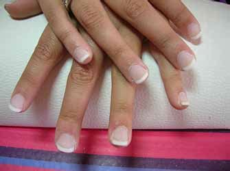 ongle en gel court ongles en gel court