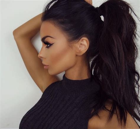High Ponytail Hairstyles by 721 Best Hair Laid Images On