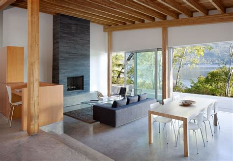 tiny house interior design a living and dining area which connect into one Tiny House Design