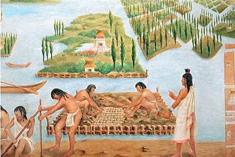 imagenes agricultura maya chinas the floating gardens of mexico ancient origins