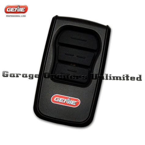 Genie Garage Remote by Genie Geniemaster Gm3t Bx Remote Clicker 37344r