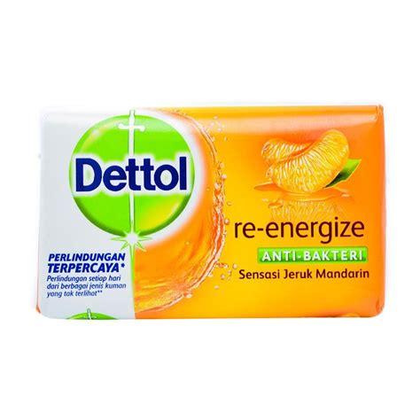 Sabun Mandi G jual dettol reenergize anti bakteri sabun mandi 105 g