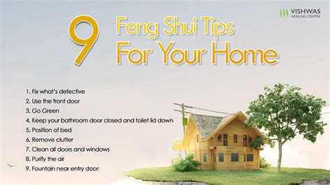 home tips 9 feng shui tips for your home vishwas healing centre