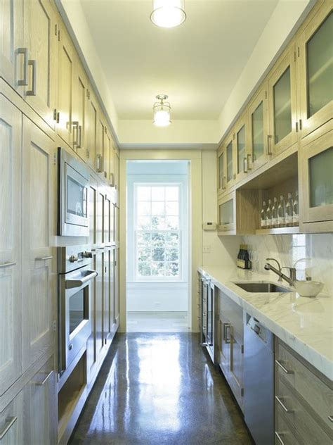 ideas for narrow kitchens kind and function in a galley kitchen decor advisor