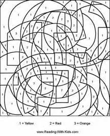 cool color by number coloring pages 11 kid activities