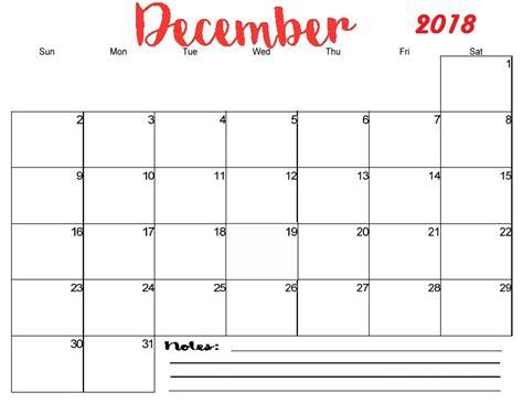 printable calendar for december 2018 free printable blank monthly calendar 2018 calendar 2018