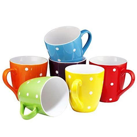 best large coffee mugs coffee mug set set of 6 large sized 16 ounce ceramic
