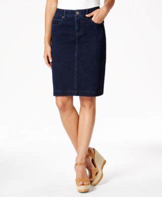 style and co denim skirt redskirtz