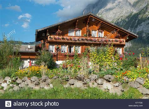 traditional alpine house stock photo image of blooming traditional alpine house stock photos traditional alpine