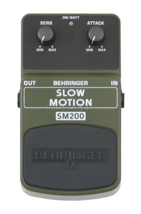 Behringer Sm200 Sm 200 Motion Effect Pedal Efek Stompbox Gitar behringer sm200 motion guitar effect