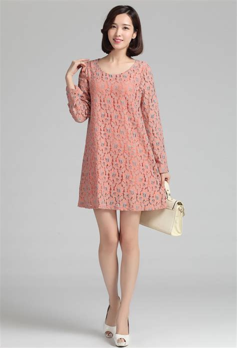 Baju Muslim Murah Grosir Sa029 Dress Pink baju dress korea related keywords baju dress korea keywords keywordsking
