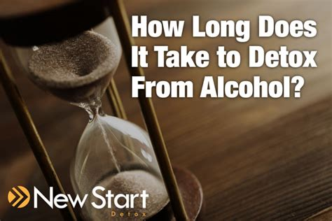 How Does It Take To Detox From Alocohol what can i expect when going through detox