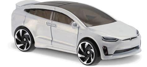 Hotwheels Wheels Tesla Model X tesla model x in white factory fresh car collector wheels