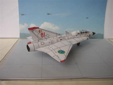 Stahlhart Papercraft - saab sk35 draken stahlhart