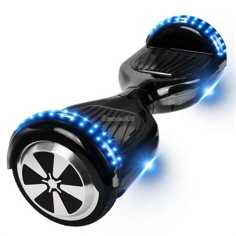 Idw058 White Led Light Size 14 5 hoverboard electric scooter 2 wheels self balancing