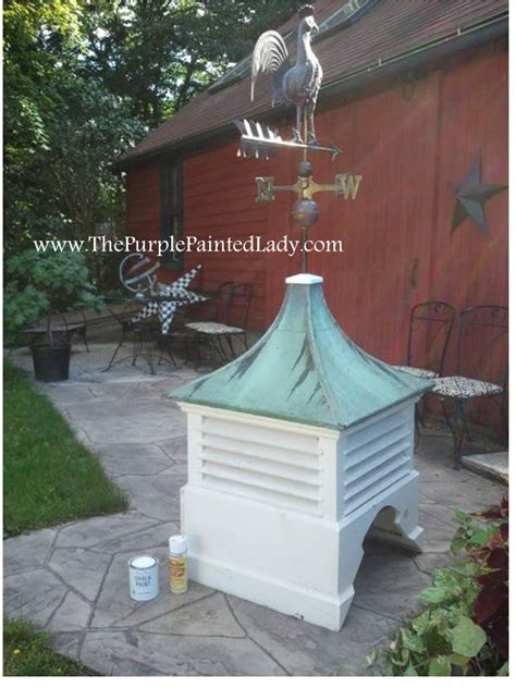 chalk paint 174 for 125 year cupola the purple