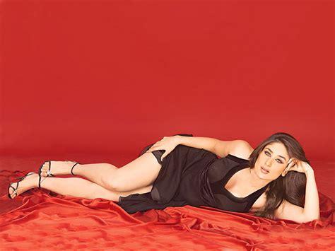 Southmovieactress Kareena Night Bedroom Nightdress Black