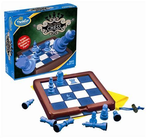 solitaire chess 174 thinkfun solitaire chess olde towne toys