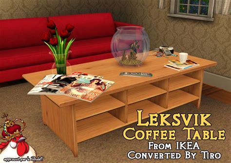tiro22222 s leksvik coffee table for the sims 3