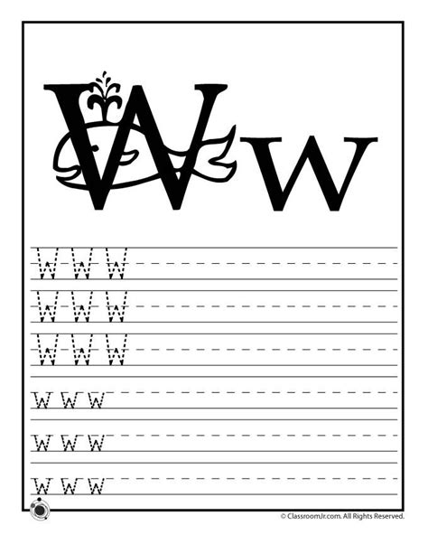 alphabet letter w template for kids letter activities 17 best images about letter w on pinterest the alphabet