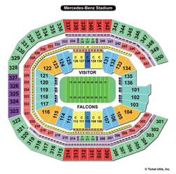 Mercedes Stadium Seating Chart Mercedes Stadium Atlanta Ga Seating Chart View