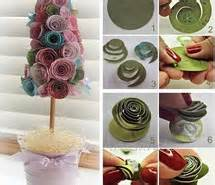 bicchieri richiudibili handmade paper bouquet tree handmade craft ideas image