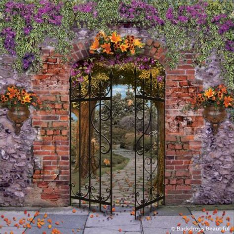 Wedding Backdrop Garden by Secret Garden Backdrop Backdrops Beautiful