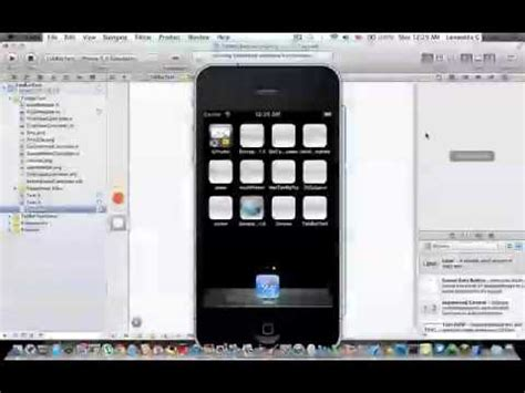 tutorial iphone xcode iphone sdk tutorial 21 cambios en xcode 4 2 tabbar sin