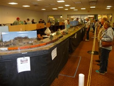 layout of southgate mall yuma model railroaders ymrr ho scale modular division