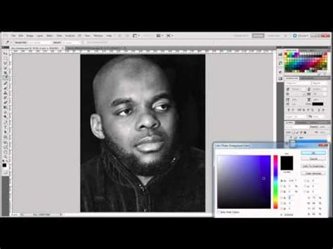 membuat watermark di photoshop cs5 cara membuat poster di photoshop cs5 youtube