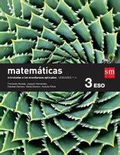 savia matemticas aplicadas a matematicas orientadas a las ciencias aplicadas 3 186 eso savia fundacion santa maria