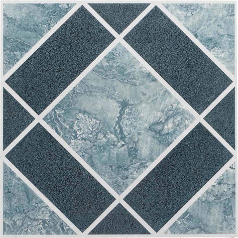 Peel And Stick Vinyl Floor Tiles by Vinyl Floor Tiles Self Adhesive Peel And Stick Blue Best