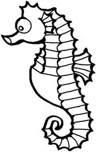 free printable seahorse coloring pages coloring pages