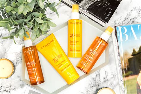 Sun Care choosing the sun care texture with clarins manface